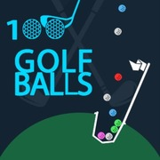 Play Game : 100 Golf Balls