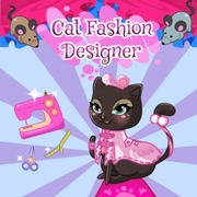 Play Game : Cat Fashion Designer