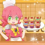 Play Game : Cooking Super Girls: Cupcakes