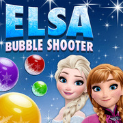 Play Game : Elsa Bubble Shooter