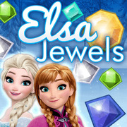 Play Game : Elsa Jewels