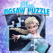 Play Game : Elsa Jigsaw Puzzle