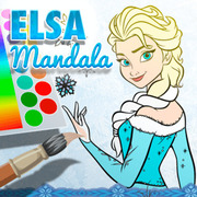 Play Game : Elsa Mandala
