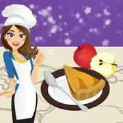Play Game : French Apple Pie - Cooking with Emma