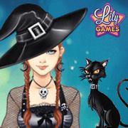 halloween lily help lily in this fun dress up game pick a scary costume for halloween - Dress Up Games For Halloween