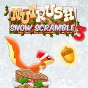 Play Game : Nut Rush 3 - Snow Scramble