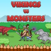 Play Game : Vikings vs Monsters