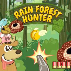 https://play.famobi.com/rain-forest-hunter arcade online game