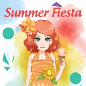 https://play.famobi.com/summer-fiesta dress-up,make-up,girls online game
