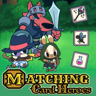 Matching Card Heroes