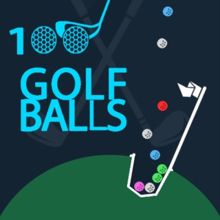 Play game 100 Golf Balls online