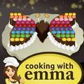 Mariposa de Pastel de Chocolate – Cocina con Emma