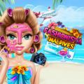 Fashionista Maldives Dress Up Game