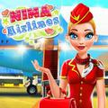 Nina - Airlines Dress Up Game