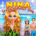 Nina - Great Summer Day Dress Up Game
