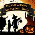 Halloween Monster Quiz game