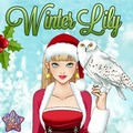 Winter Lily Make Up Game