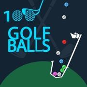 Play Game : 100 Golf Balls