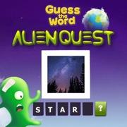 เกมส์ทายคำศัพท์ภาษาอังกฤษ Alien Quest