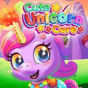 jugar Cute Unicorn Care