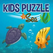Kids Puzzle Sea by Claudio Souza Mattos