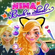 Play Game : Nina Back To School