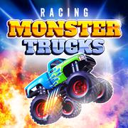 play Racing Monster Trucks