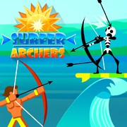 https://play.famobi.com/surfer-archers skill,action online game