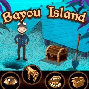 https://play.famobi.com/bayou-island puzzle,action online game