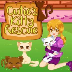 https://play.famobi.com/cuties-kitty-rescue girls online game
