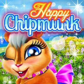 Happy Chipmunk