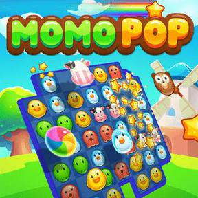 https://play.famobi.com/momo-pop match-3 online game