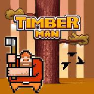 https://play.famobi.com/timber-man arcade online game