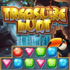 https://play.famobi.com/treasure-hunt match-3 online game