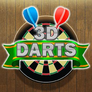 Play game 3D Darts online