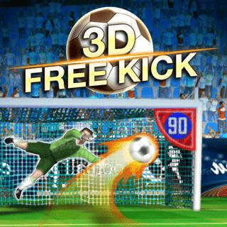 Play game 3D Free Kick online