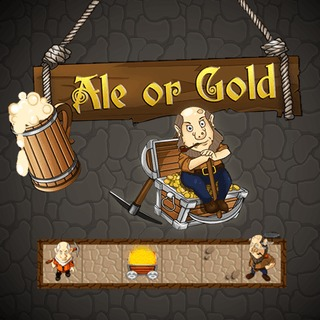 Ale or Gold Beer