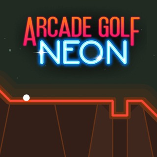 Play game Arcade Golf: NEON online
