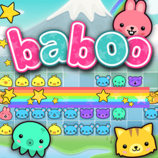 Play game Baboo: Rainbow Puzzle online