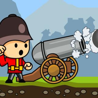 Play Cannons And Soldiers