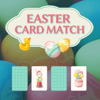 Play Easter Card Match