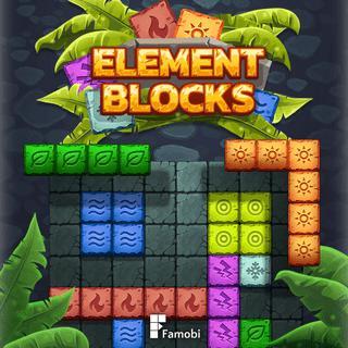 元素塊-元素块-Element Blocks-在這個超級上癮的益智遊戲中,將塊形狀拖放到網格上以創建實線並得分盡可能多的點!