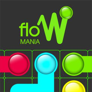 لعبة تدفق الالوان للاطفال Flow Mania