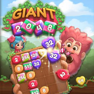 Giant 2048 Game Board Play Free
