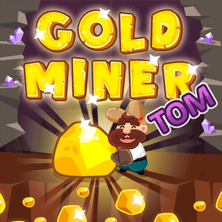 Play game Gold Miner Tom online