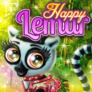 Happy Lemur