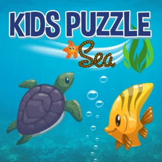 Play game Kids Puzzle Sea online