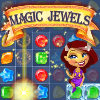 Magic Jewels match 3 game