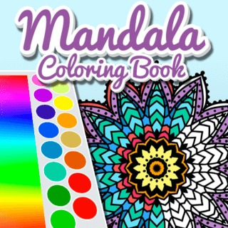 Mandala Coloring Book App