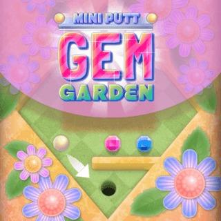 Minigolf im Garten bild